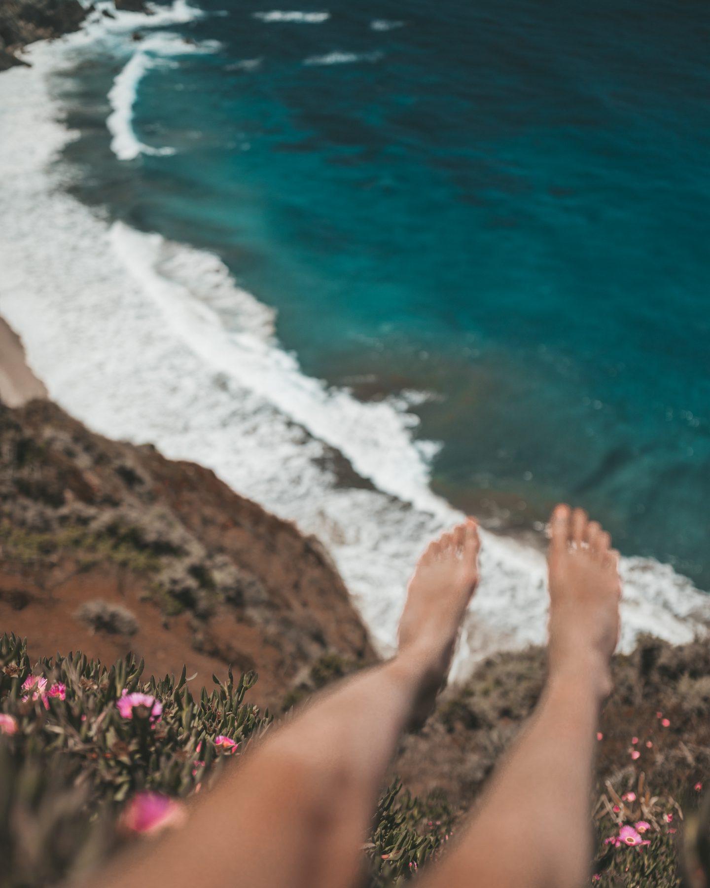 feet dangling west coast
