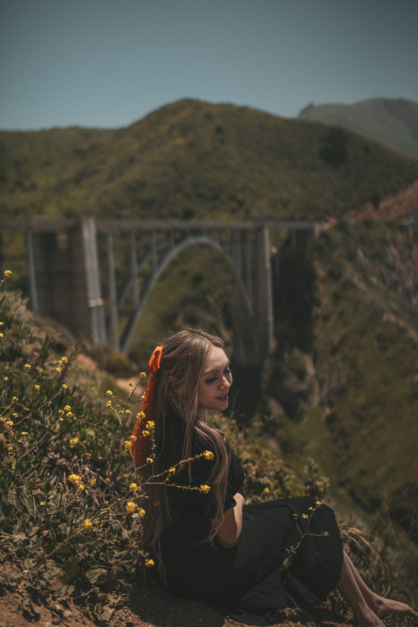 bixby bridge portrait