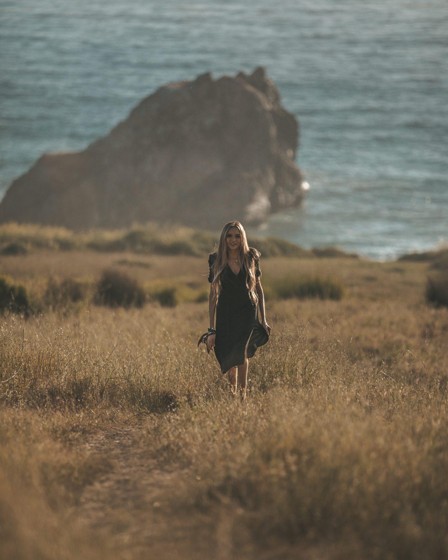 portrait big sur west coast