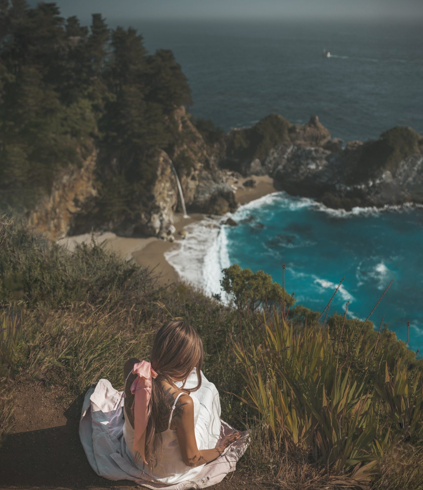 view of mcway falls